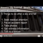 Allens Answers Slip And Fall – Mobile, AL – LawCall – Legal Videos