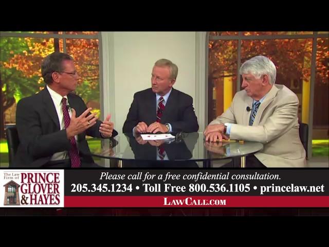 7/13/2017 – Wrecks & Mediation – Tuscaloosa, AL – LawCall – Legal Videos
