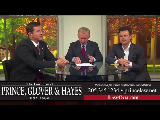 9/14/2017 – Possession Of Alcohol – Tuscaloosa, AL – LawCall – Legal Videos